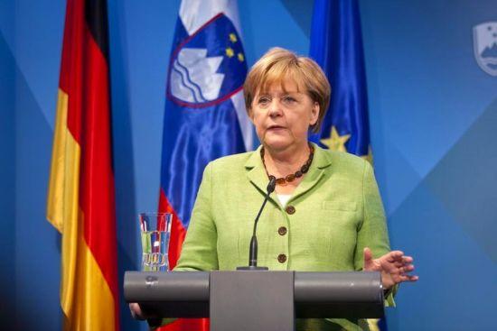 德国总理默克尔第五次折桂百强女性
